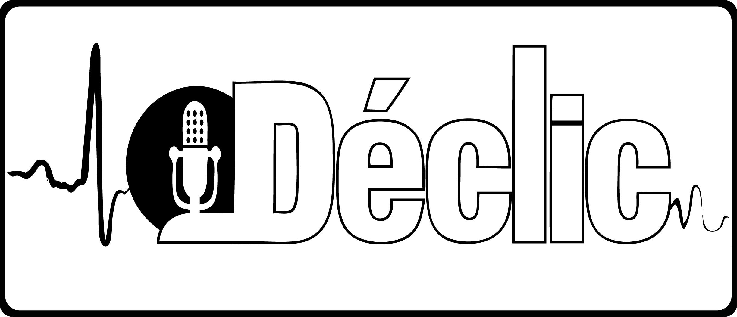 logo declic noir et blanc